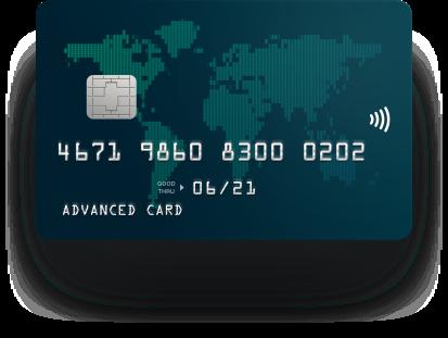 ADV-карта plastic