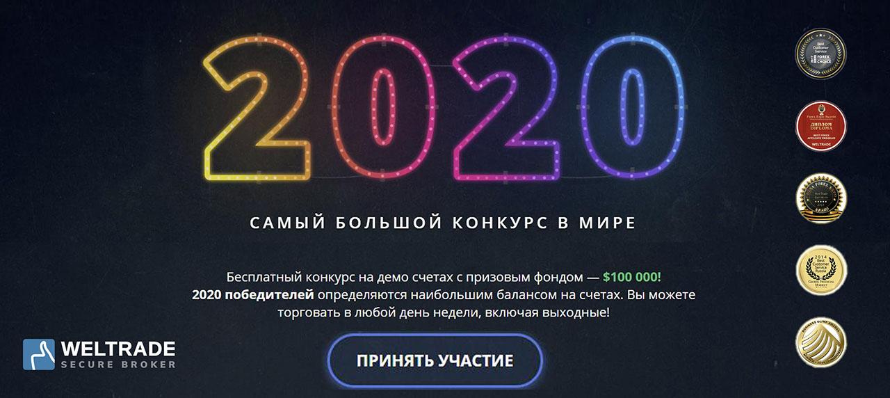 Бесплатный конкурс на демо счетах с призовым фондом — $100 000!