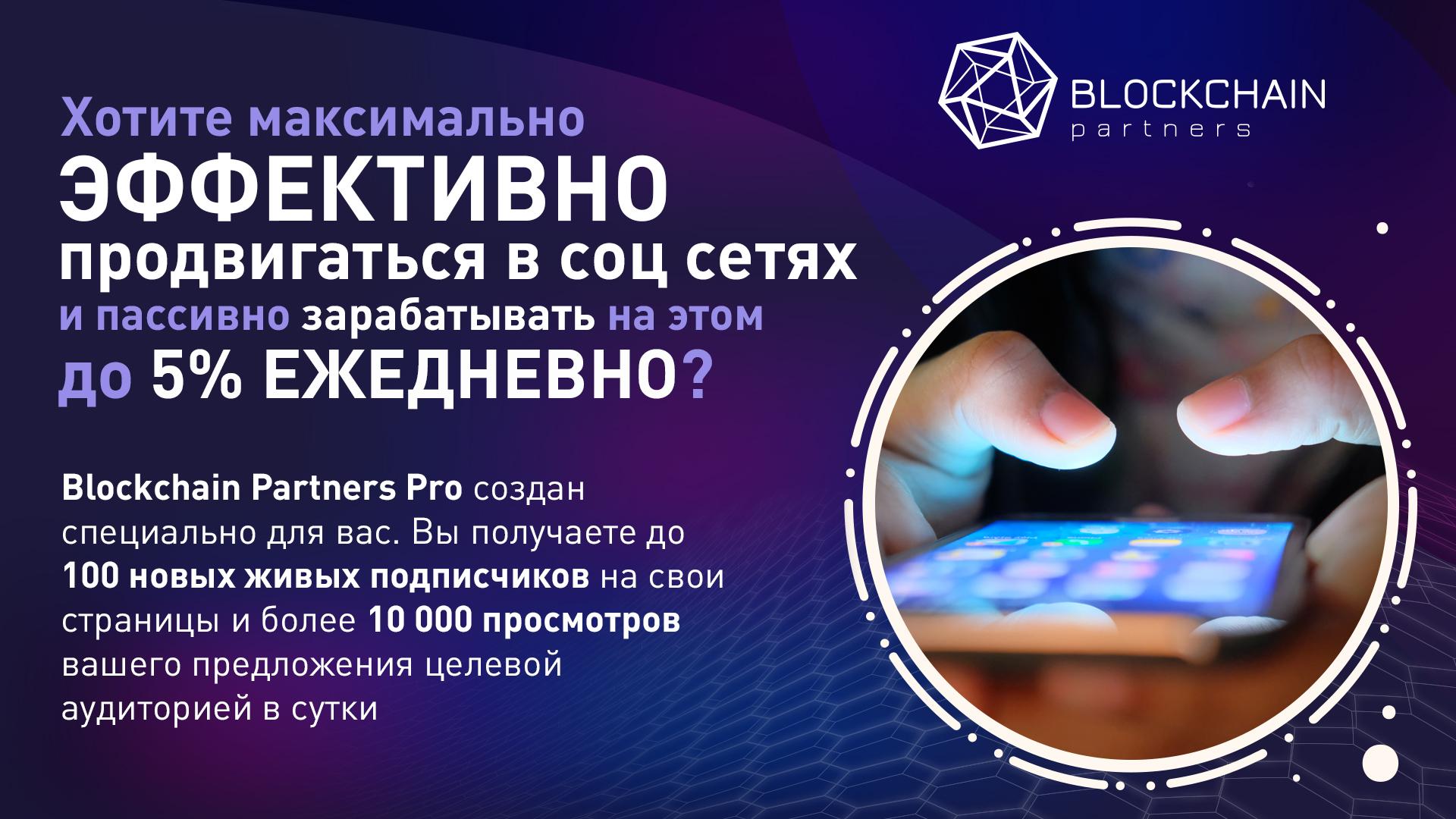 Blockchain Partners Pro