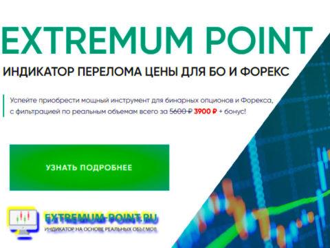 Extremum Point | Индикатор перелома цены для БО и ФОРЕКС